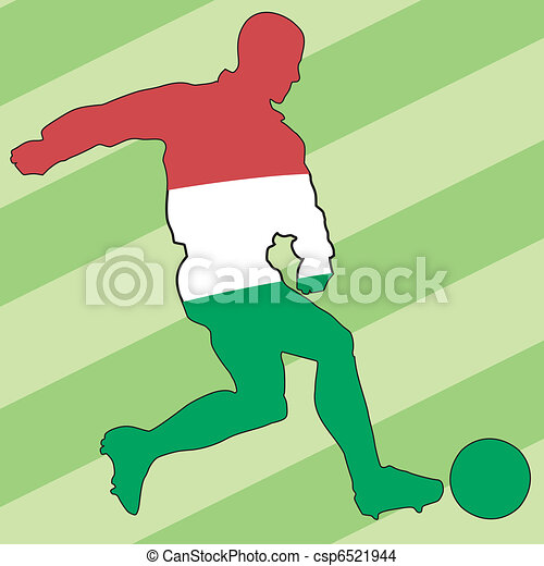 football colors of Hungary - csp6521944