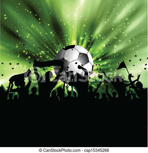 Football crowd - csp15345266