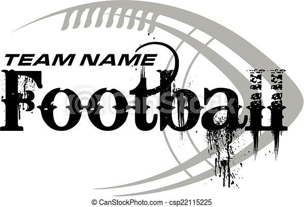 football, disegno, palla - csp22115225