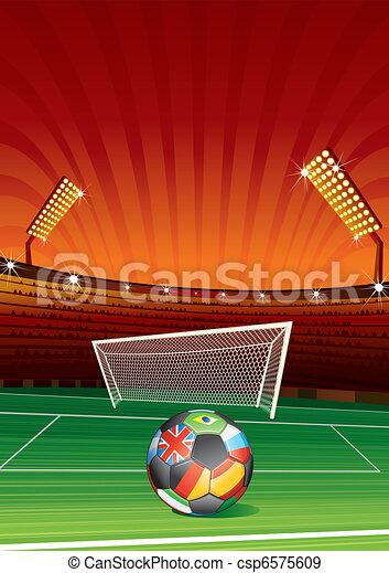 football, euro - csp6575609