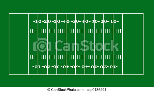 lay out of an american football field rh canstockphoto com football field clip art free football field goal clip art