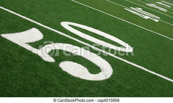 Football Field - csp4015956