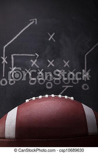 Football Game Plan - csp10689630