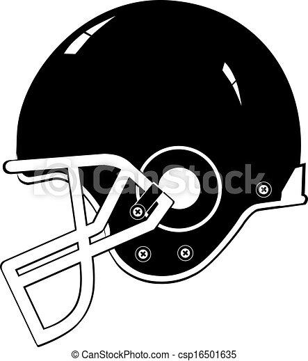 football helmet black vector eps 10 vectors search clip art rh canstockphoto com football helmet vector graphic football helmet template vector