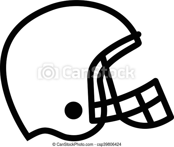 football helmet vector icon vector illustration search clipart rh canstockphoto com