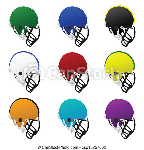 Football helmets - csp15257662