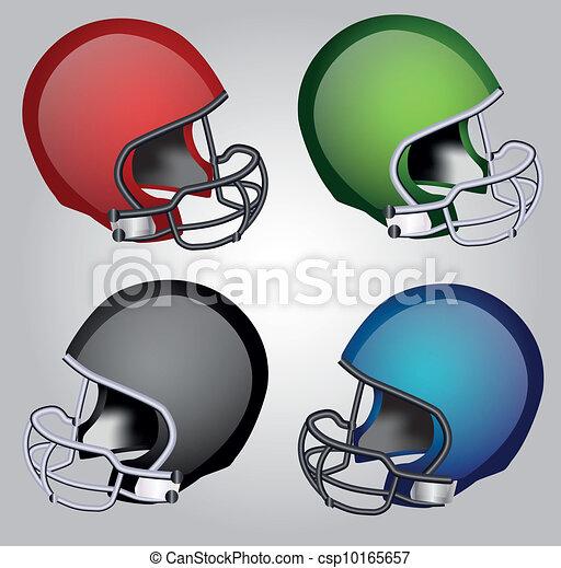 Football Helmets  - csp10165657