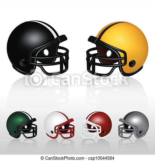 Football Helmets - csp10544584