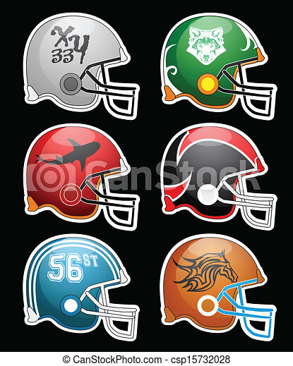 Football Helmets - csp15732028