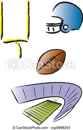 Football Icons - csp5898354