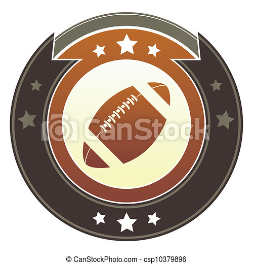 Football imperial button - csp10379896