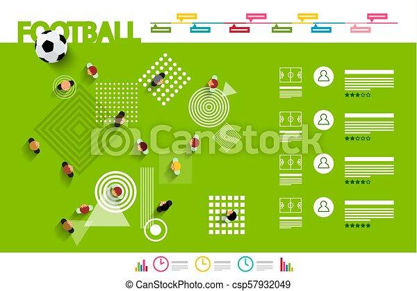 Football Infographic - Vector - csp57932049