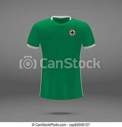 bdf899589 Football kit of northern ireland 2018