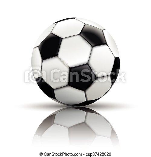 Football Mirror Background - csp37428020