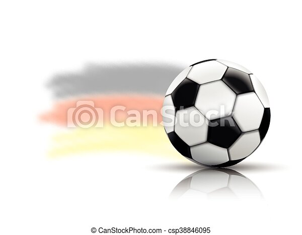 Football Mirror Germany Background - csp38846095