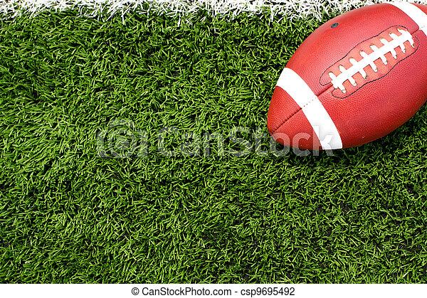 Football on the Field - csp9695492