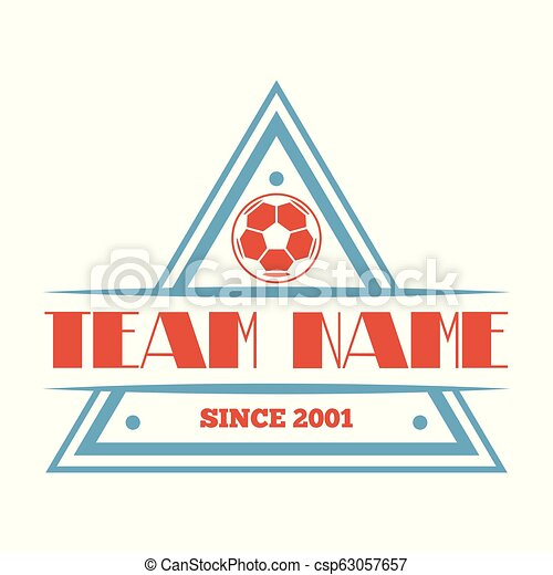Football Or Soccer Club Logo Set Vector Template Design Football