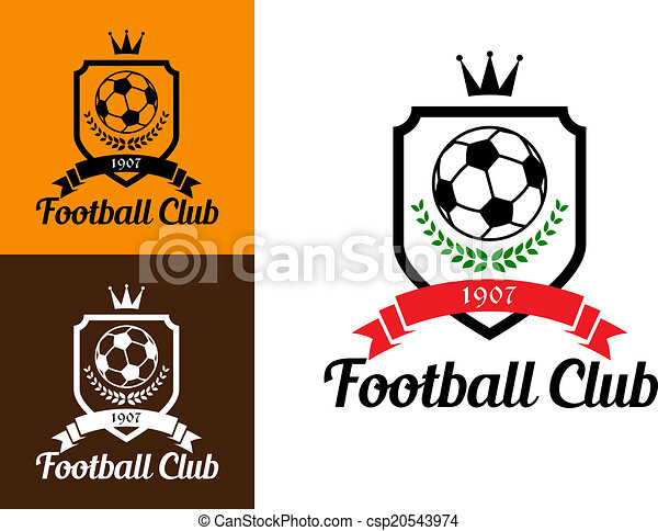 Football Or Soccer Crests   Csp20543974