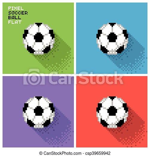 Football Pixel Balle