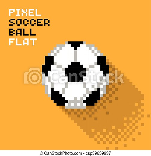 Football Pixel Balle