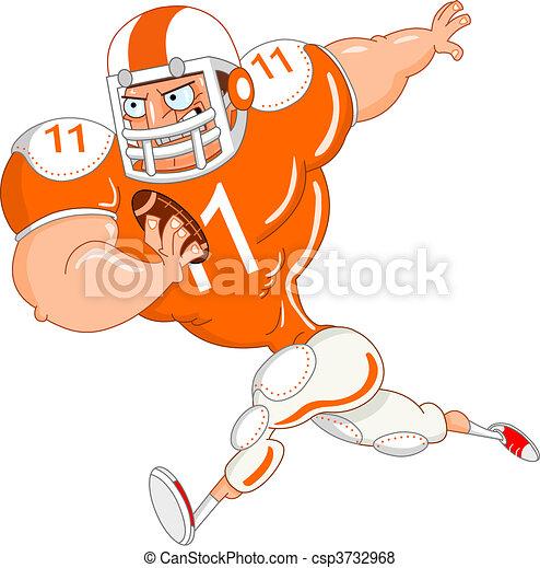 Football player - csp3732968