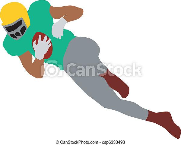 football player - csp6333493