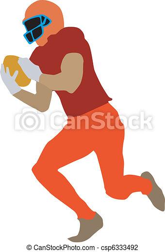 football player - csp6333492