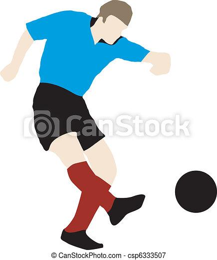 football player - csp6333507