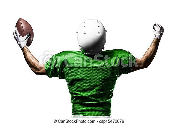 Football Player - csp15472676