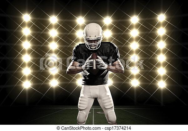 Football Player - csp17374214