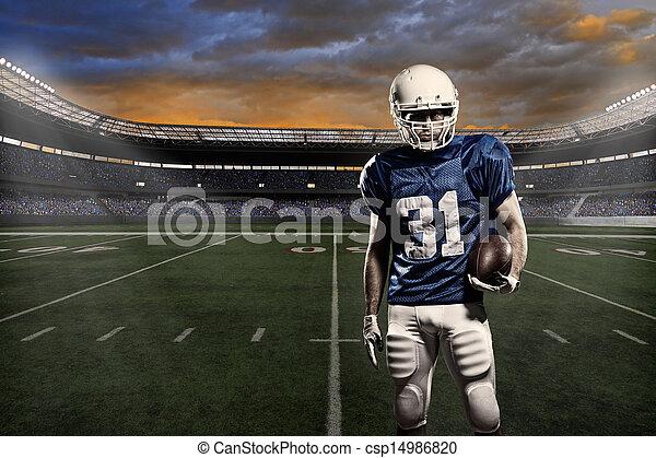 Football player  - csp14986820