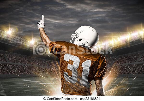 Football Player - csp33186824