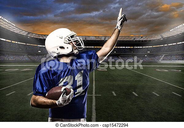 Football Player - csp15472294