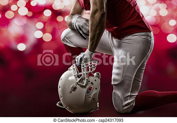 Football Player - csp24317093