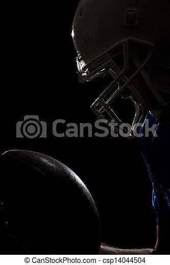 Football Player - csp14044504
