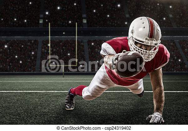 Football Player - csp24319402