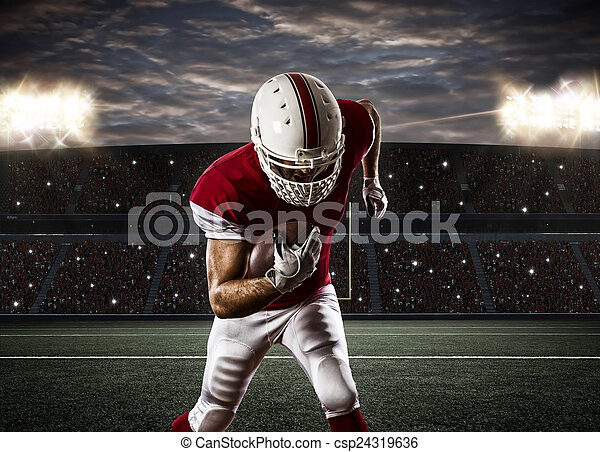 Football Player - csp24319636