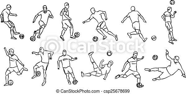 football players - csp25678699