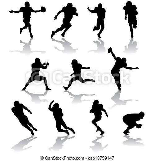 football players - csp13759147