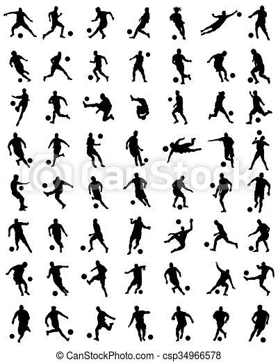 football players - csp34966578