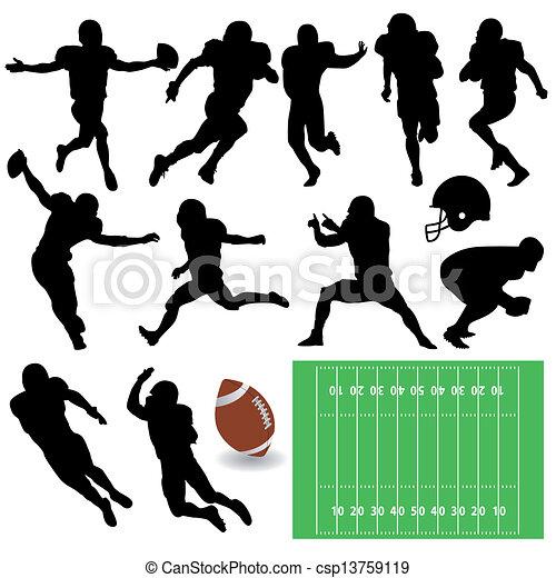 football players - csp13759119