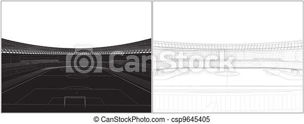 Football Soccer Stadium - csp9645405