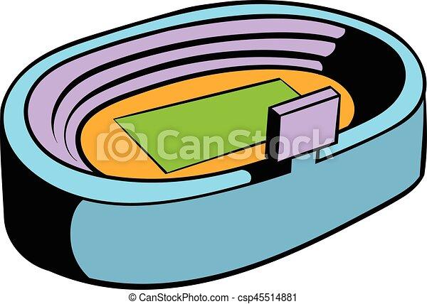 football soccer stadium icon icon cartoon football soccer rh canstockphoto com