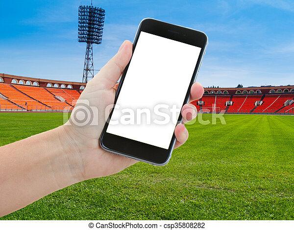 football sport background - csp35808282