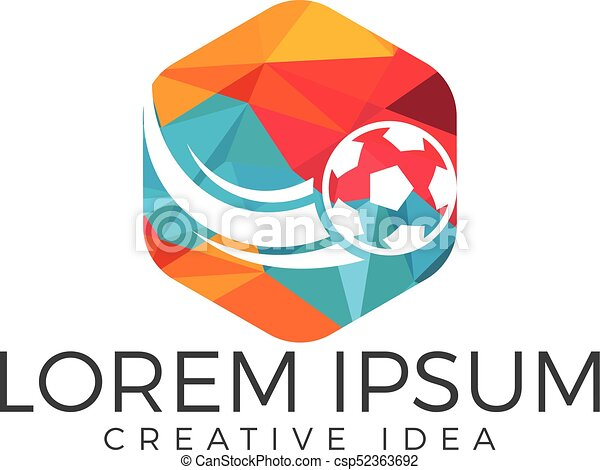 football sport logo vector design template sports club and