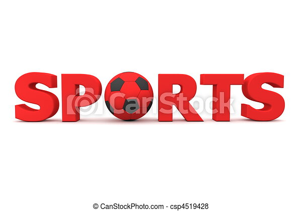 Football Sports Red - csp4519428