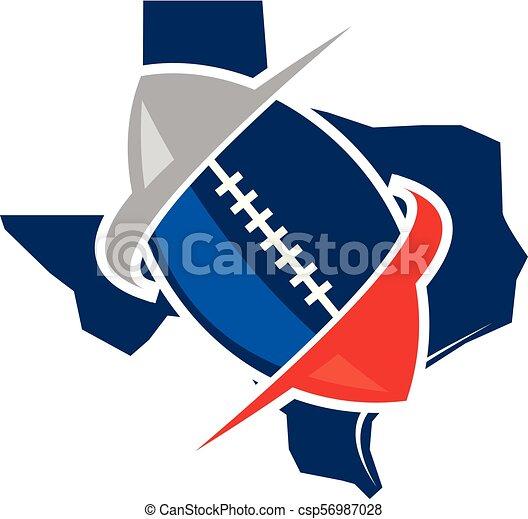 football, texas - csp56987028