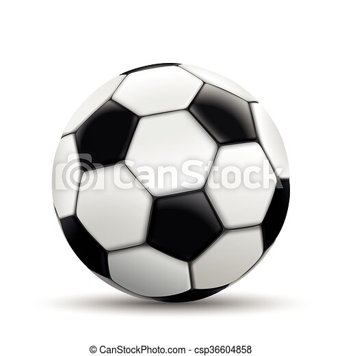 Football White Background - csp36604858