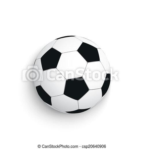 Football White Background - csp20640906