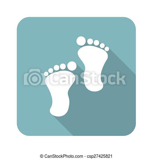 Footprint icon - csp27425821